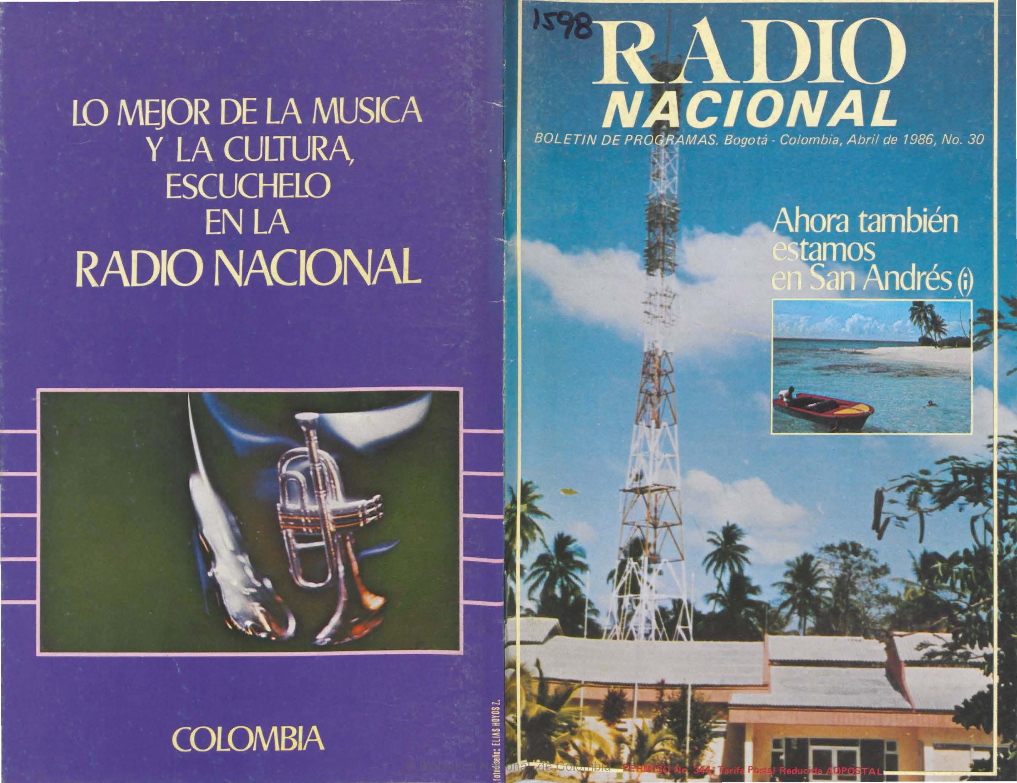 Boletín de programas 1986-04