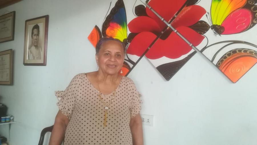Nohema Fragoso, primera cantante de vallenato