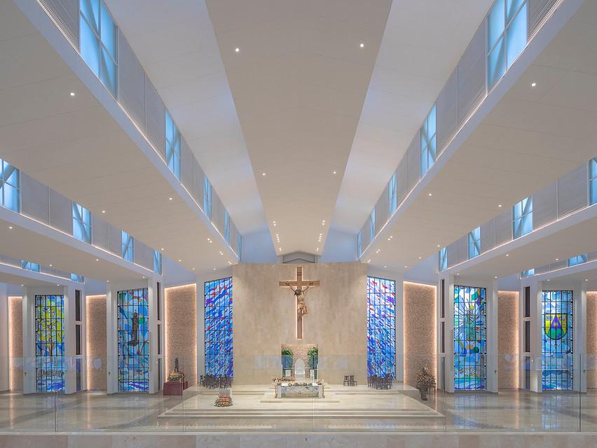 Vitrales Catedral Santo Eccehomo Valledupar
