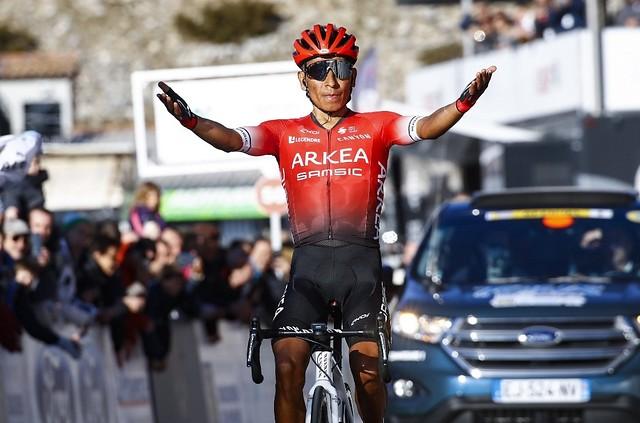 Nairo Quintana vuelve a ser protagonista en la montaña en su segunda temporada con el Arkea Samsic
