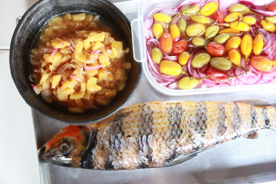 Receta cocina indígena Vaupés