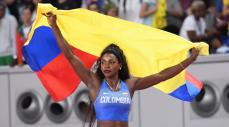 Caterine Ibargüen, atleta colombiana de salto triple