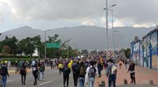Denuncian agresiones durante protestas ante la Corte Penal Internacional