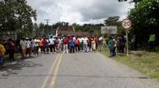 Protesta minera en el Chocó