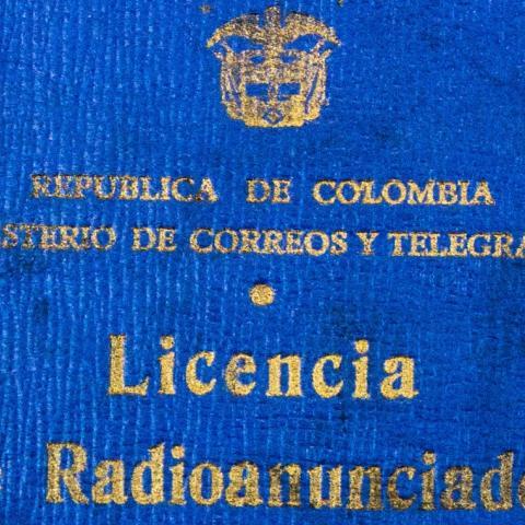 Licencia de locutor