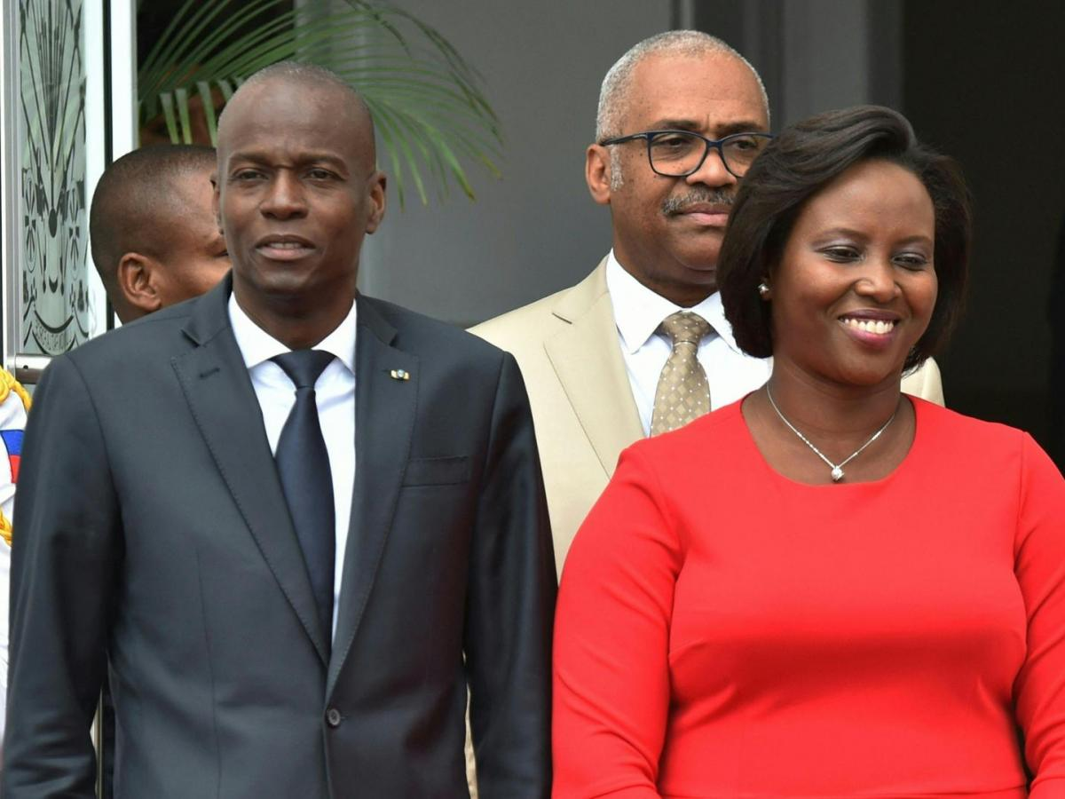 Viuda de presidente asesinado regresa a Haití para los funerales