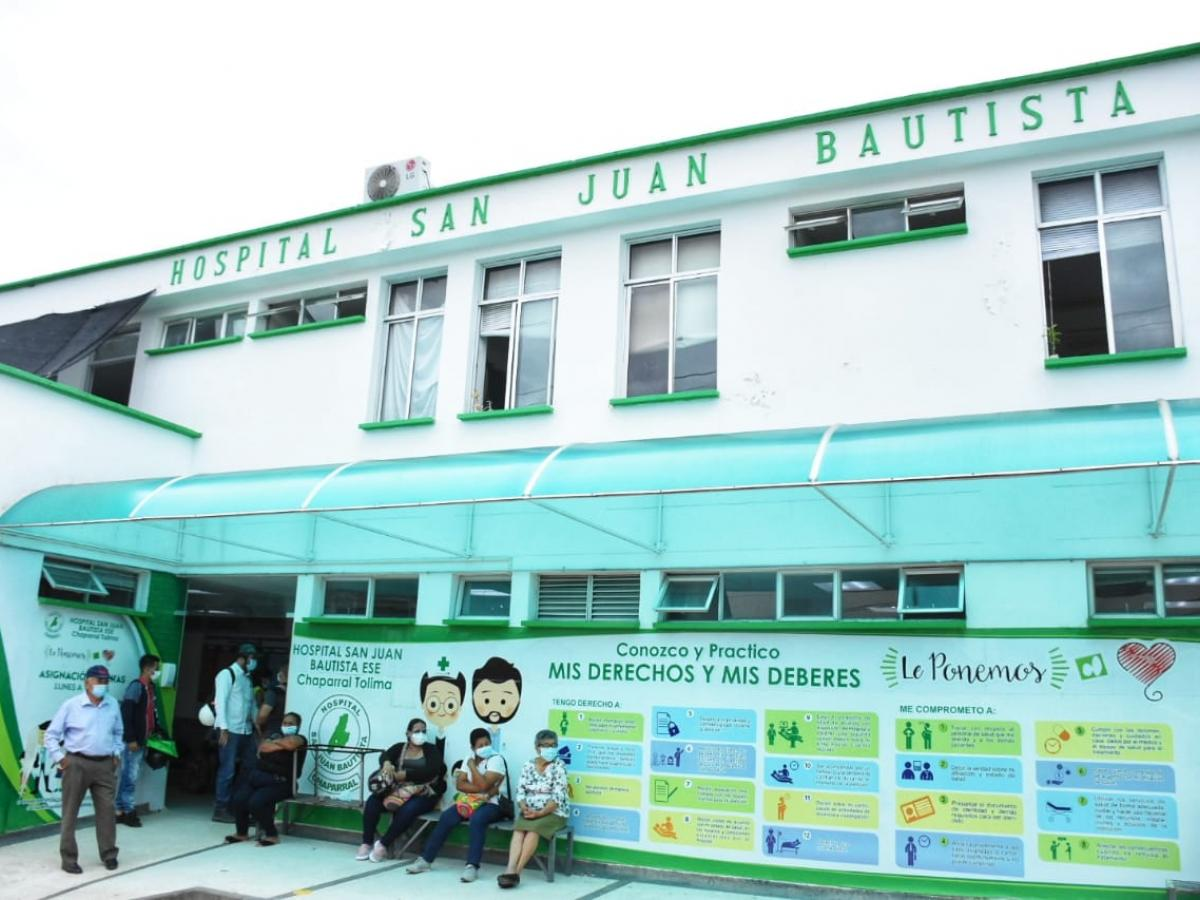 Foto: Hospital San Juan Bautista. Chaparral, Tolima