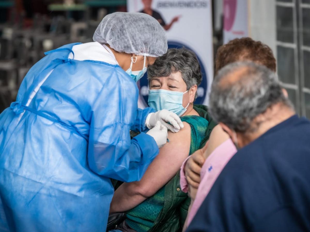 Alcaldía de Bogotá amplió puntos de vacunación