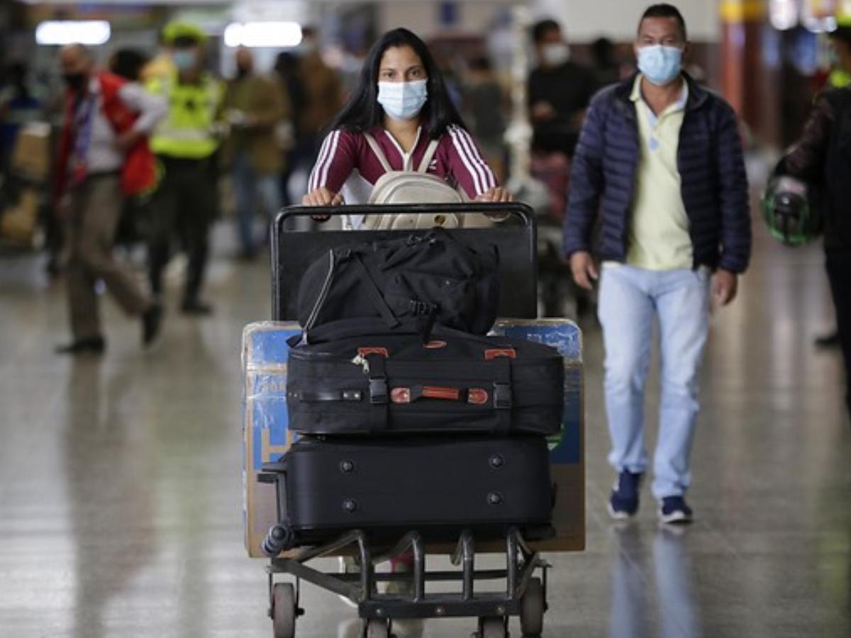 Viajeros en colombia