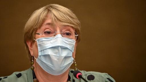 Michelle Bachelet,  alta comisionada de ONU para Derechos Humanos