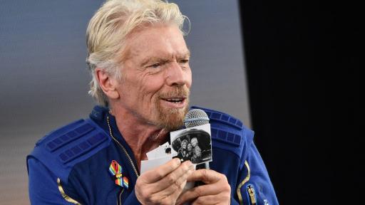 Richard Branson, empresario británico que viajó al espacio