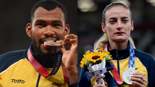 Zambrano y Arenas hablaron de sus medallas en Tokio