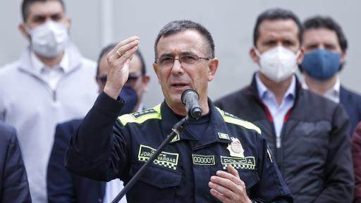 El general Jorge Luis Vargas Valencia