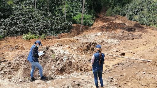 Cerca de mil familias resultaron afectadas por temporada de lluvias en Risaralda