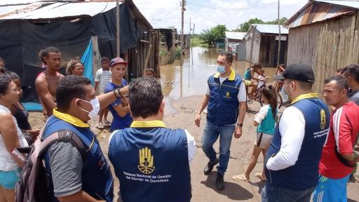 Santander: lluvias deja más de 400 damnificados en Puerto Wilches