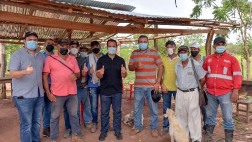 Campesinos trabajarán en la primera Célula de Desarrollo Agrícola del Cesar
