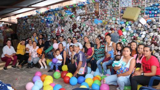 La líder ambiental que a través del reciclaje quiere construir casas en BriceñoLa líder ambiental que a través del reciclaje quiere construir casas en Briceño