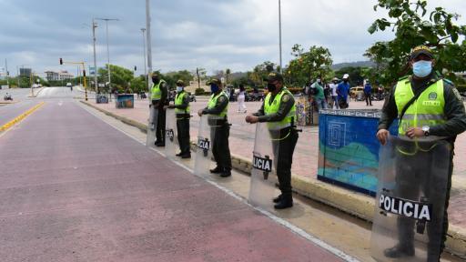 Toque de queda en Cartagena tras declarar alerta roja hospitalaria