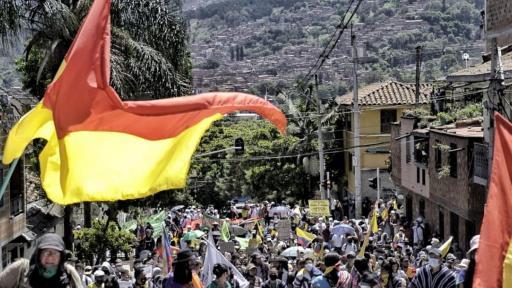 Manifestaciones en Medellín dejan un saldo de siete personas heridas