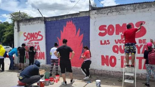 Borran murales realizados por jóvenes en Riohacha